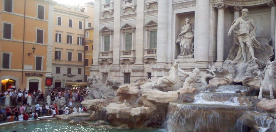 5. Jazyková výprava: Fontana di Trevi v Římě