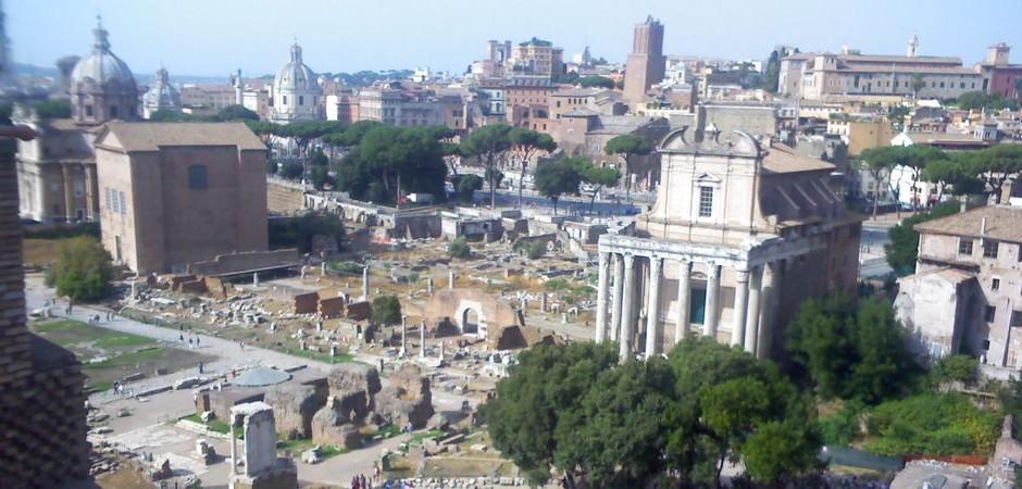 5. Jazyková výprava: Forum Romanum v Římě bylo (v dobách antického Říma) centrum veřejného dění ve městě i v říši