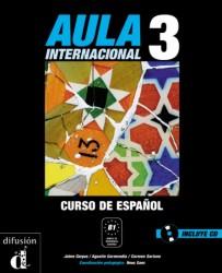 Učebnice pro mírně pokročilé Aula Internacional 3