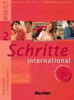 Učebnice němčiny pro falešné začátečníky Schritte international 2