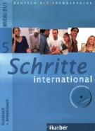 Učebnice němčiny pro mírně pokročilé Schritte international 5